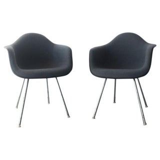 Mid-Century Modern Eames Shell Armchairs - A Pair