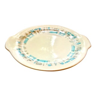Mid-Century Modern Royal China Atomic Style Serving Platter