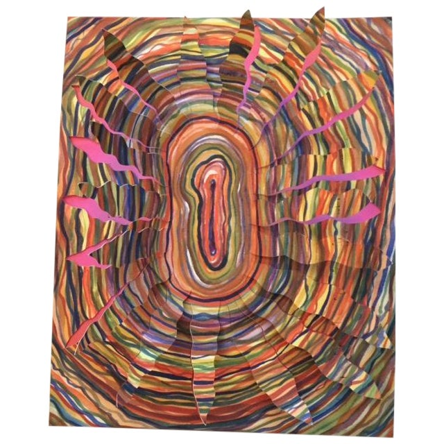 Robin Mitchell Contemporary Colorful 3D Art - Image 1 of 5