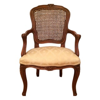 Antique Baby Cane Back Chair