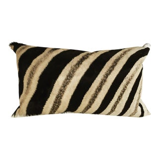 Zebra Hide Pillow