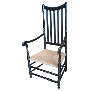 Early Banister-Back Armchair
