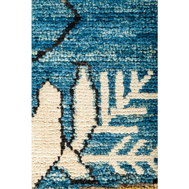 "New Hand Knotted Area Rug - 8'1"" x 9'10"" - Image 3 of 3"