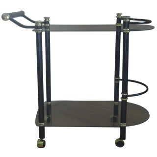 Art Deco Commodore Bar Cart