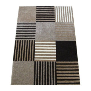 "Checker Blocked Pattern Rug - 5'3"" x 7'8"""