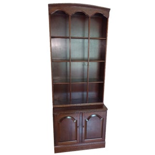 Ethan Allen Book Shelf and Hutch