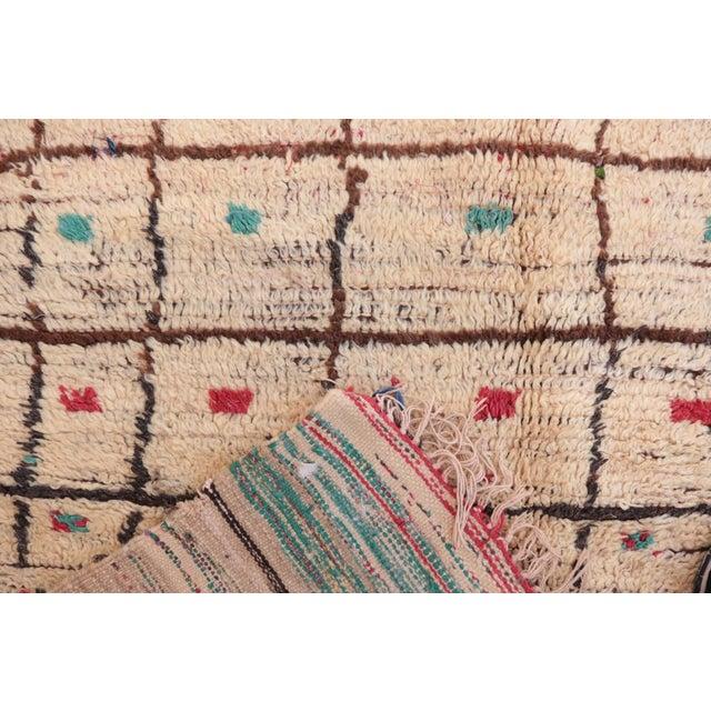 "Image of Vintage Azilal Moroccan Rug - 4'2"" x 8'2"""