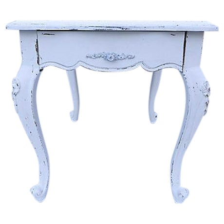 French Cottage Style Side Table - Image 1 of 8