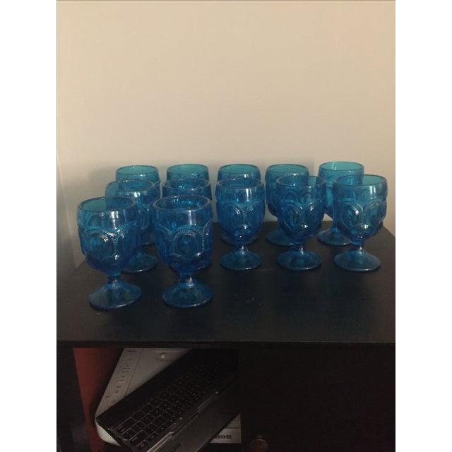 Aqua Kings Crown Glasses - Set of 12 - Image 6 of 8