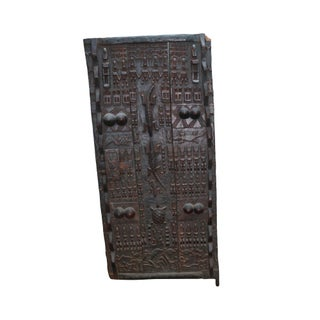 Tribal African Dogan Door