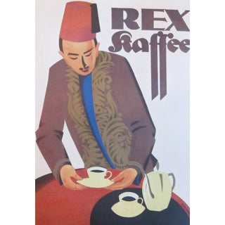 Original German 1927 Lithographic Rex Poster