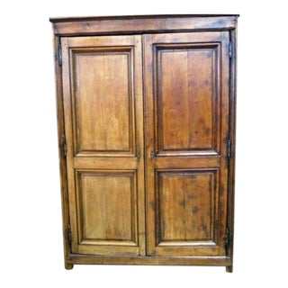 Antique 18h Century French Country Oak Armoire