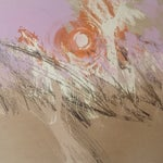 Image of Smith Pink Desert Serigraph