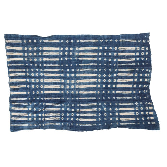 """Vintage African Textile Throw - 3'4"""" X 5' - Image 1 of 6"""