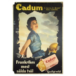 Vintage Swedish Soap Advertisement