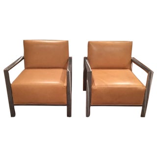 Room & Board Zinc Chairs - Pair