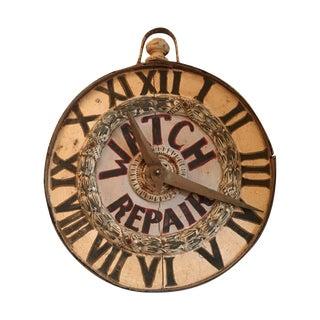 Antique Watch Repair Sign
