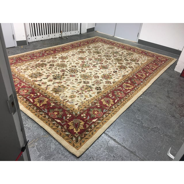 Home Traditions & Textiles Persian Style Wool Rug- 9′4″ × 13′4″ - Image 3 of 7