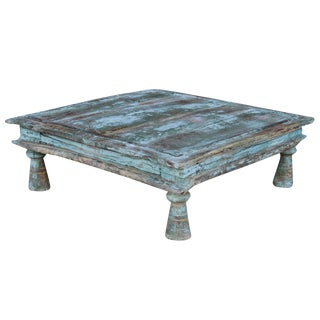 Vintage Turquoise Bajot Table