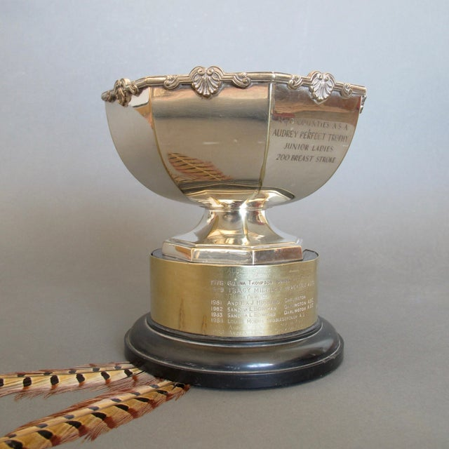 1970's Swimming Rose Bowl Trophy - Image 6 of 8