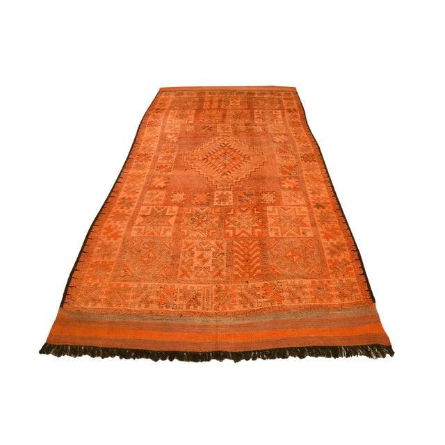 Vintage Moroccan Berber Rug - 5′7″ × 12′10″ - Image 1 of 4