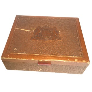 Vintage P. M. & Co. Cigar Box