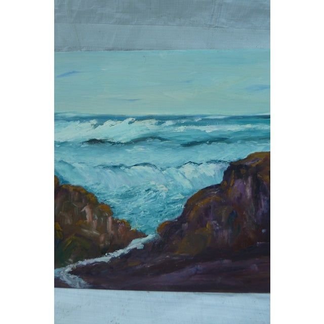 H.L. Musgrave Mid-Century North Shore Painting - Image 4 of 7