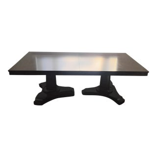 Restoration Hardware Portman Espresso Dining Table