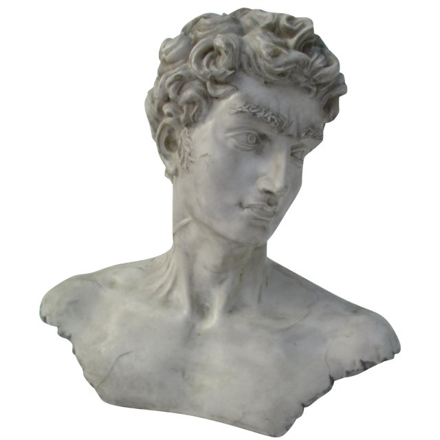 Neoclassical Vintage Cast Resin Bust - Image 1 of 11