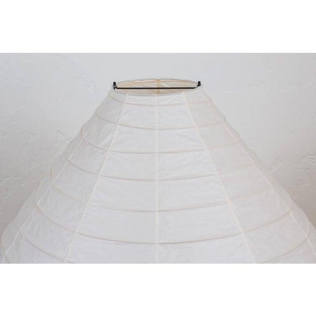 Large Isamu Noguchi Akari 23n Floor Lamp - Image 6 of 8