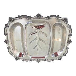 Silver Plated Well & Tree Buffet Platter