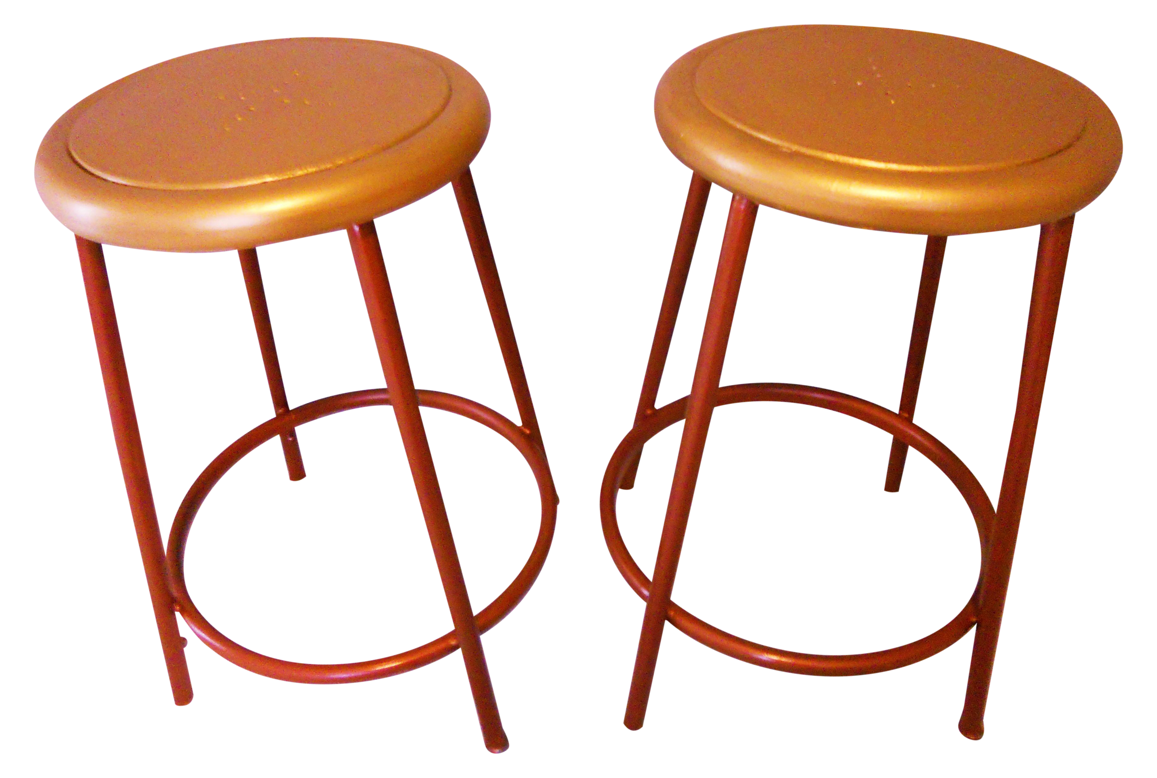 Vintage Amp Used Brown Counter Stools Chairish