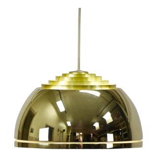 Vintage Brass Lightolier Pendant Lamp