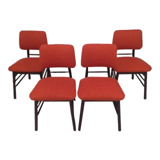 Re-Upholstered Original Knoll Chairs - Set of 4