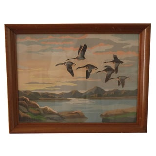 Flying Geese Paint by Numbers