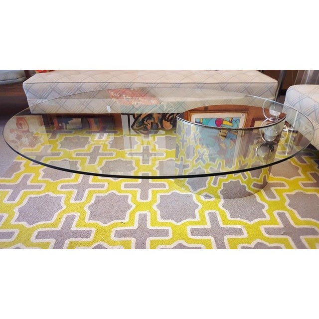 Image of Lunario Coffee Table by Cini Boeri for Knoll