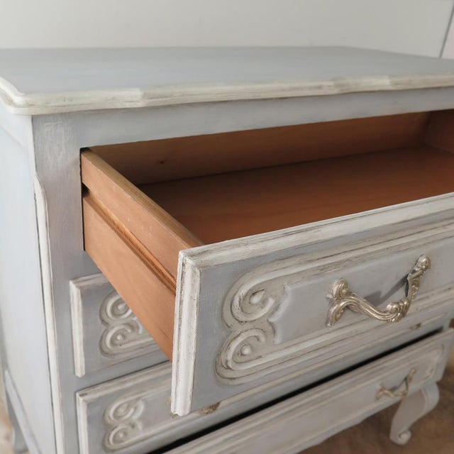 French Blue Commode - Image 7 of 11