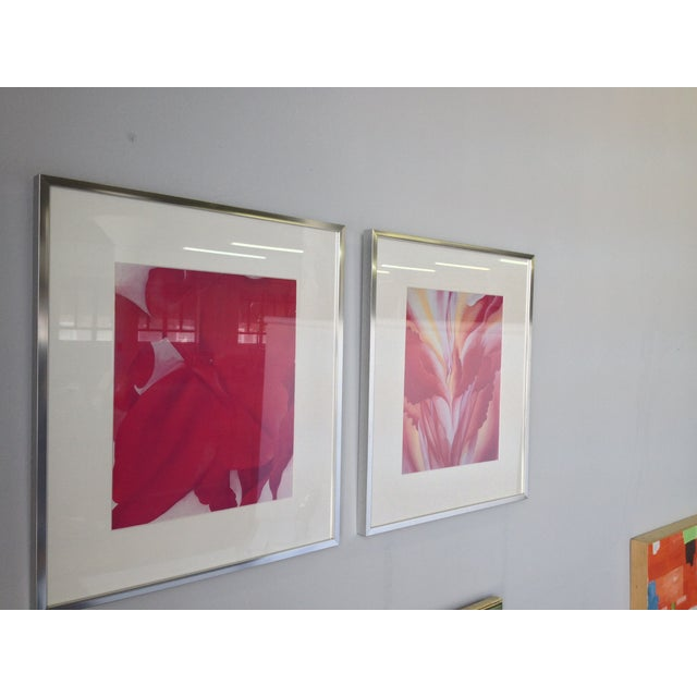 Georgia O'Keeffe Modern Framed Prints - A Pair - Image 3 of 3