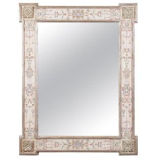 Neoclassical Pompeii Mirror
