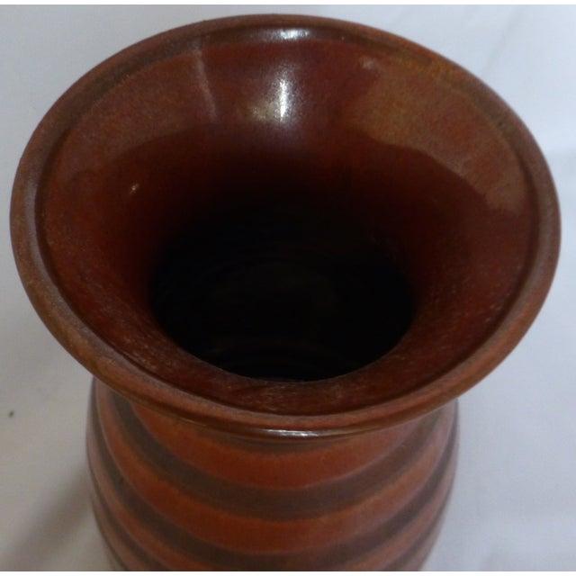 Mid Century Otagiri Japanese Pottery Vase - Image 4 of 6