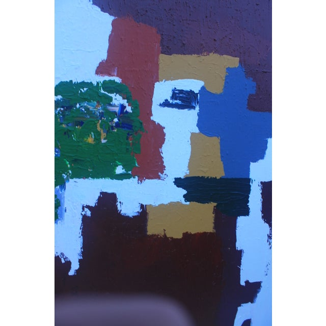 Mid-Century Modern Abstrac Expressionist Painting - Image 7 of 11