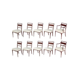 English Regency Dining Chairs / Set of 10