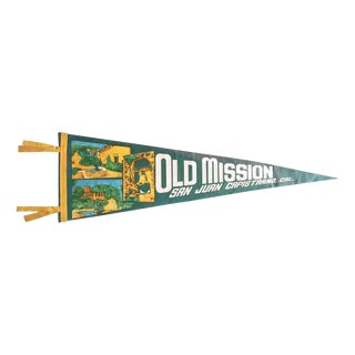 Old Mission San Juan Capistrano California Pennant