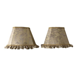 Fortuny Lamp Shades - a Pair