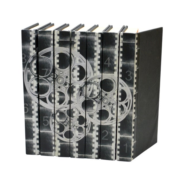 Film Reels Black & White Books - Set of 7 - Image 1 of 3