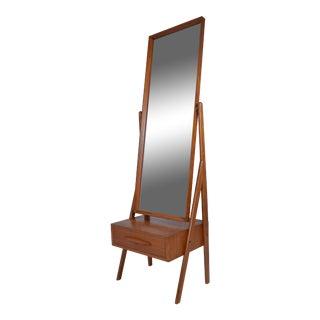 Danish Modern Cheval Mirror by Arne Vodder, circa 1960s