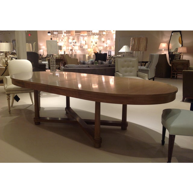 Barbara Barry for Baker Oval Dining Table | Chairish