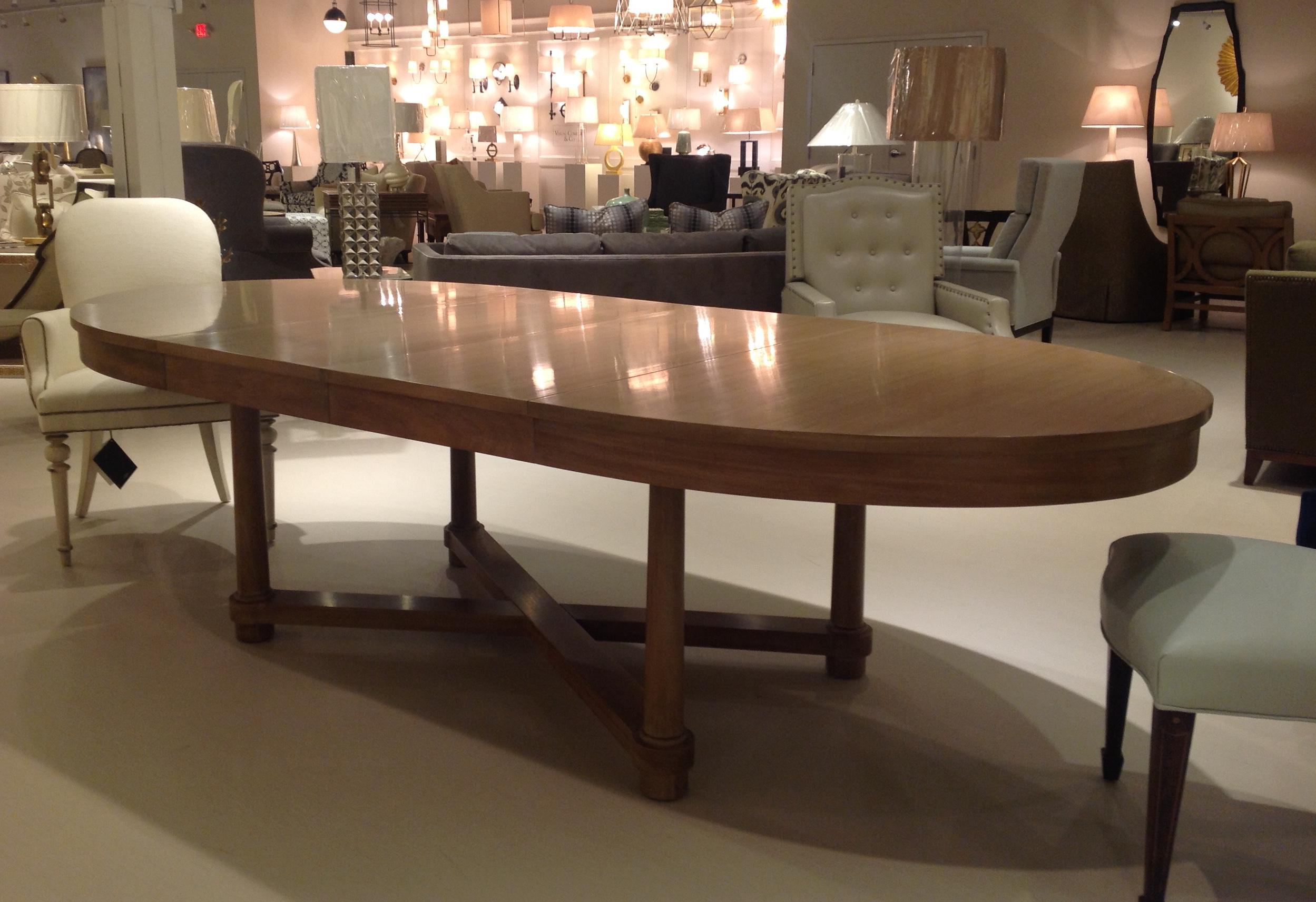 Barbara Barry For Baker Oval Dining Table   Image 5 Of 5