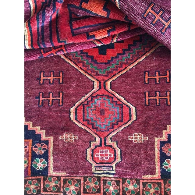 """Hand-Knotted Persian Rug - 4'3"""" X 10'6"""" - Image 5 of 5"""