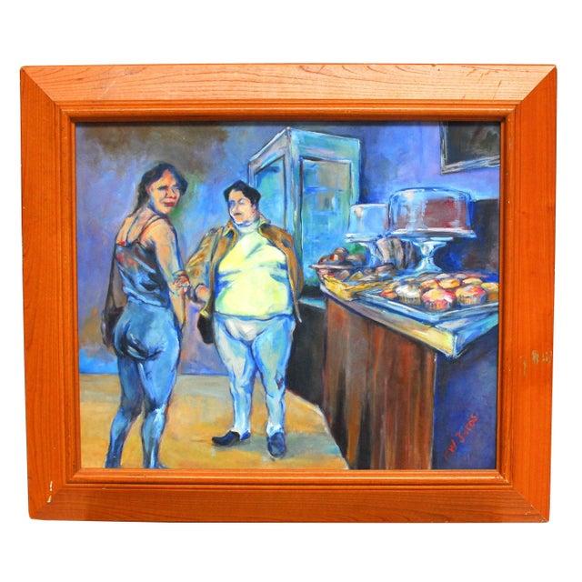 Image of F.W. Jaros Original Painting